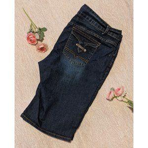 Karen T Denim Shorts Size 20